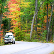 Stock Photo: Small Truck On The Road Side