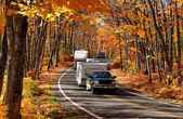Autumn Travel — Stock Photo