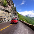 Going to the sun road — Stock Photo