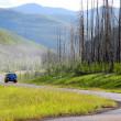 Scenic drive in Rocky mountains — ストック写真 #8496362