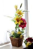 çiçek vazo — Stok fotoğraf