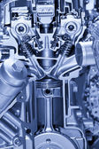 Automotive engine details — Stock Photo