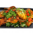 Spicy grilled chicken — Foto Stock