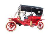 Kırmızı klasik otomobil — Stok fotoğraf