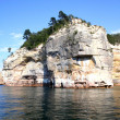 Stock Photo: Pictured rock