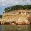 Stock Photo: War ship Pictured rocks