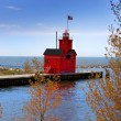 Stock Photo: Holland Michiglight house
