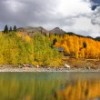 Autumn in San Juan mountains — Stock Photo