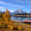 Stock Photo: Grand Tetons