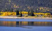 Autumn reflections — Stock Photo