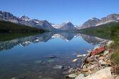 Swift current lake — Stock Photo