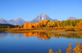 Grand Tetons panorama — Stock Photo