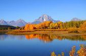 Grand Tetons panorama — Stock Photo