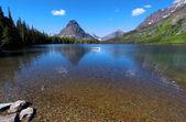 Two medicine lake — Stock Photo