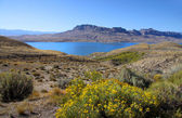 Buffalo bill reservoir — Stock Photo