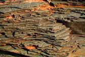 Layerd Rocks — Stock Photo