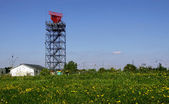 Radar tower — Stock Photo
