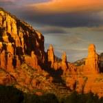 Red rock hills in Sedona — Stock Photo #9011099