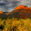 Red rock hills - Stock Photo