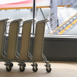 Carts In The Lobby — Stock Photo