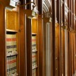 Law books in the shelf's of library — Stock Photo #9105703