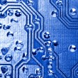 PCB background — Stock Photo #9105843