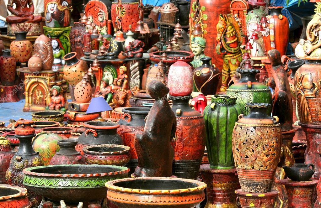 Handicraft India Photos Indian Handicrafts Hand Carved Decorative Ceramic Pots Photo by