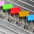 paper clips — Stock Photo
