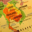 Thailand map — Stock Photo