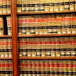 Law book library — Stock Photo #9111100