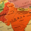 India map - Stock Photo