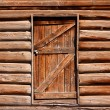 Door of an abandoned home — Stock Photo