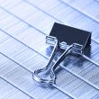 Stock Photo: Paper clip