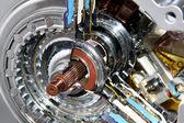 Engine transmission — Stock Photo