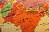 India map — Stock Photo