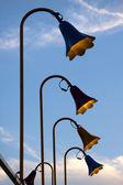 Lamp posts — Stock Photo