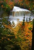Upper tahquamenon water falls — Stock Photo
