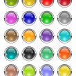 Royalty-Free Stock Photo: Glossy buttons