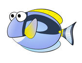 Blue fish — Stock Photo