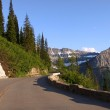 Going to the sun road — Stock Photo #9944900