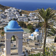 View of the island of Ios in Cyclades, — Stock Photo