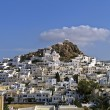 Stock Photo: View of Traditional village of Ios in Aegean,