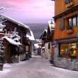 A village in France in winter, — Stock Photo #8369620