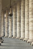 Vatican colonnade — Stock Photo