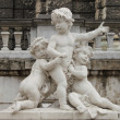Stock Photo: Children statue