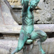 Satyr statue — Stock Photo