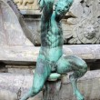 Stock Photo: Satyr statue