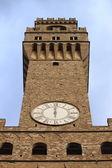 Palazzo Vecchio, Florence — Stock Photo