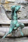 Satyr heykeli — Stok fotoğraf