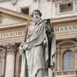 Statue of Saint Paul the Apostle — Stock Photo